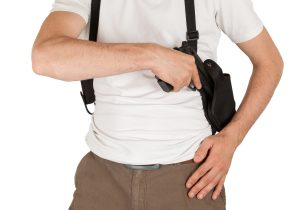 pros nd cons of shoulder holsters