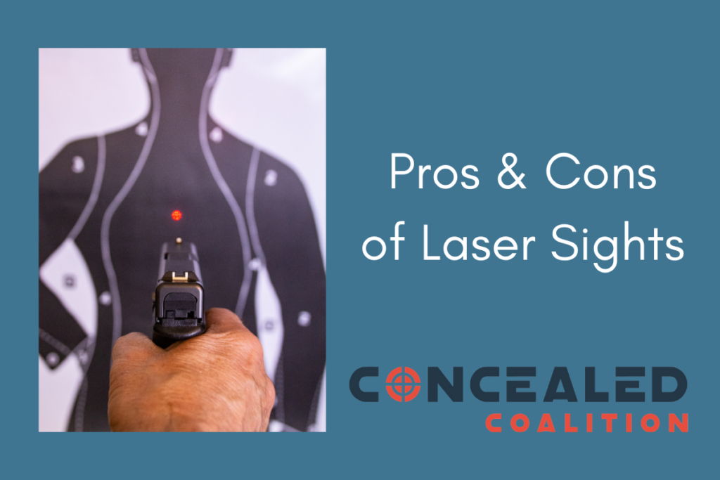 Pros and cons of laser sights